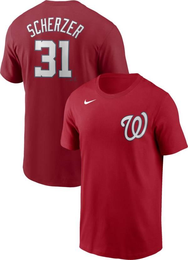 Nike Men's Washington Nationals Max Scherzer #31 Red T-Shirt product image