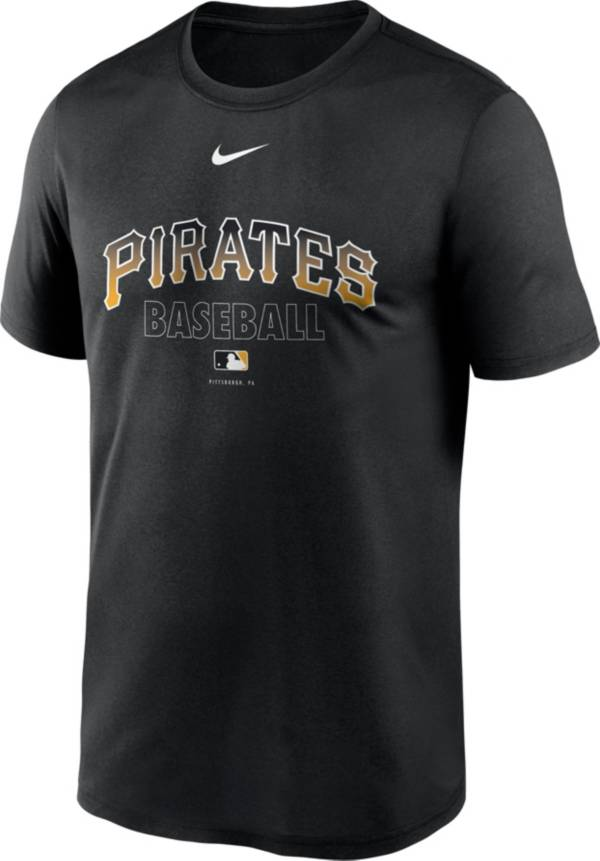 Nike Men's Pittsburgh Pirates Black Authentic Collection Legend Dri-FIT T-Shirt product image