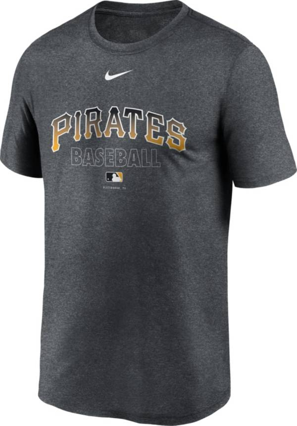 Nike Men's Pittsburgh Pirates Grey Authentic Collection Legend Dri-FIT T-Shirt product image