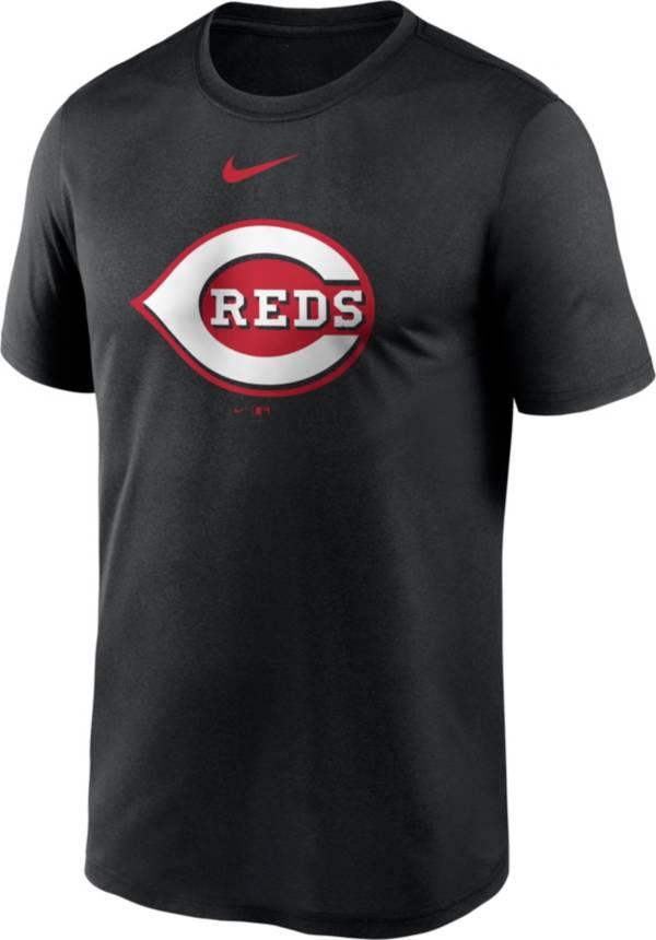 Nike Men's Cincinnati Reds Black Large Logo Legend Dri-FIT T-Shirt product image