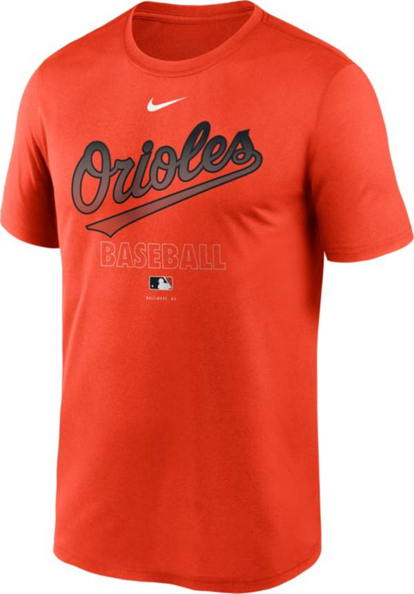Nike Men's Baltimore Orioles Orange Authentic Collection Legend Dri-FIT T-Shirt product image