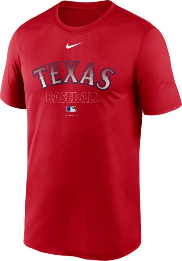 Nike Men's Texas Rangers Red Authentic Collection Legend Dri-FIT T-Shirt product image