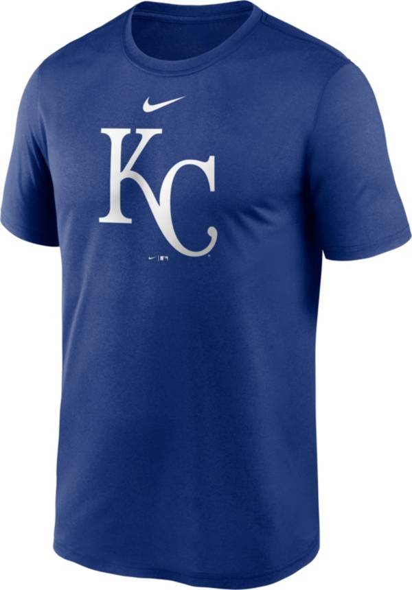 Nike Men's Kansas City Royals Blue Large Logo Legend Dri-FIT T-Shirt product image