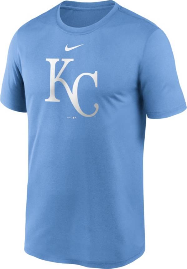 Nike Men's Kansas City Royals Blue Large Logo Legend Dri-FIT T-Shirt product image