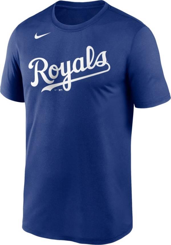 Nike Men's Kansas City Royals Blue Wordmark Legend Dri-FIT T-Shirt product image