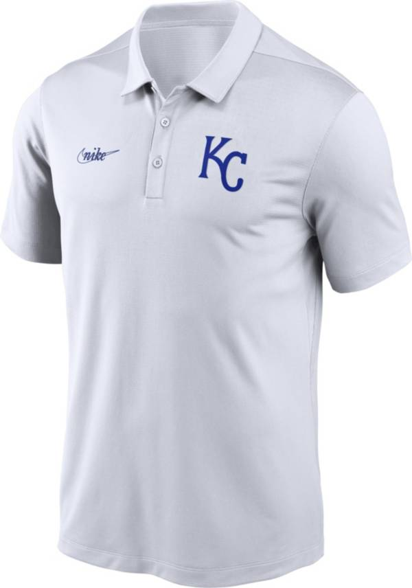 Nike Men's Kansas City Royals White Cooperstown Vintage Dri-FIT Franchise Polo product image
