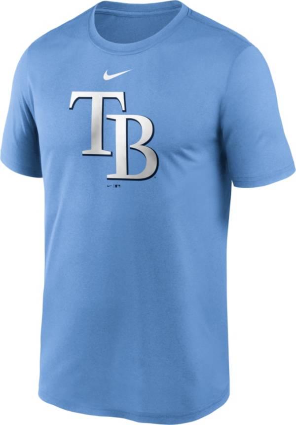 Nike Men's Tampa Bay Rays Blue Large Logo Legend Dri-FIT T-Shirt product image