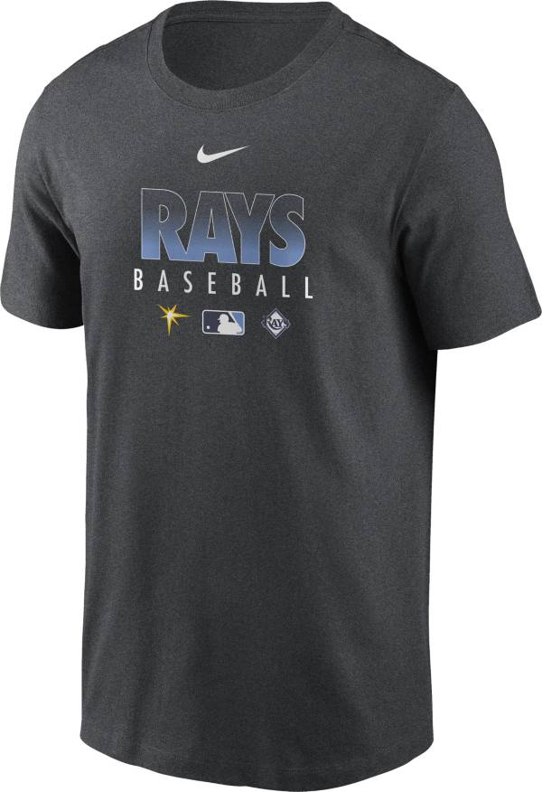 Nike Men's Tampa Bay Rays Grey Dri-FIT Baseball T-Shirt product image