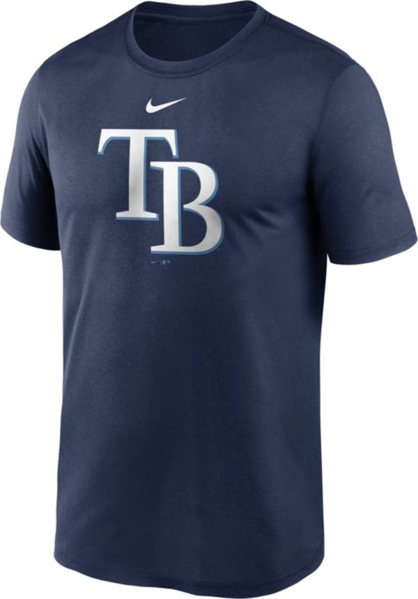 Nike Men's Tampa Bay Rays Navy Large Logo Legend Dri-FIT T-Shirt product image