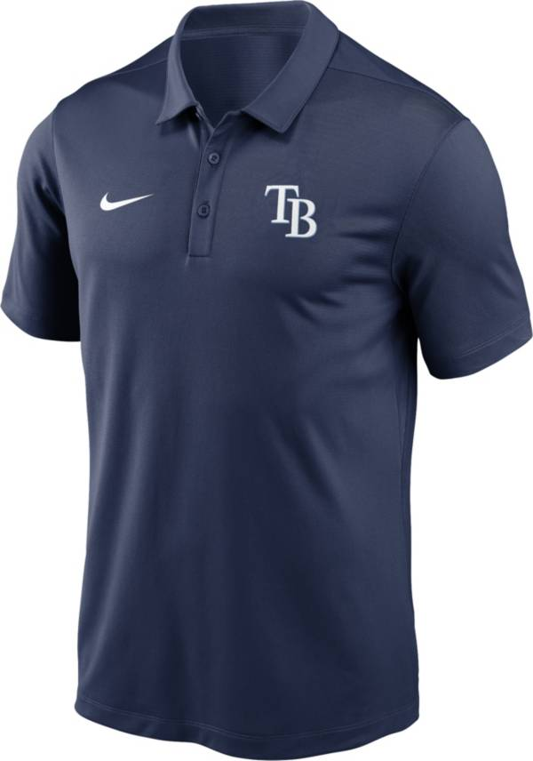 Nike Men's Tampa Bay Rays Navy Franchise Polo product image