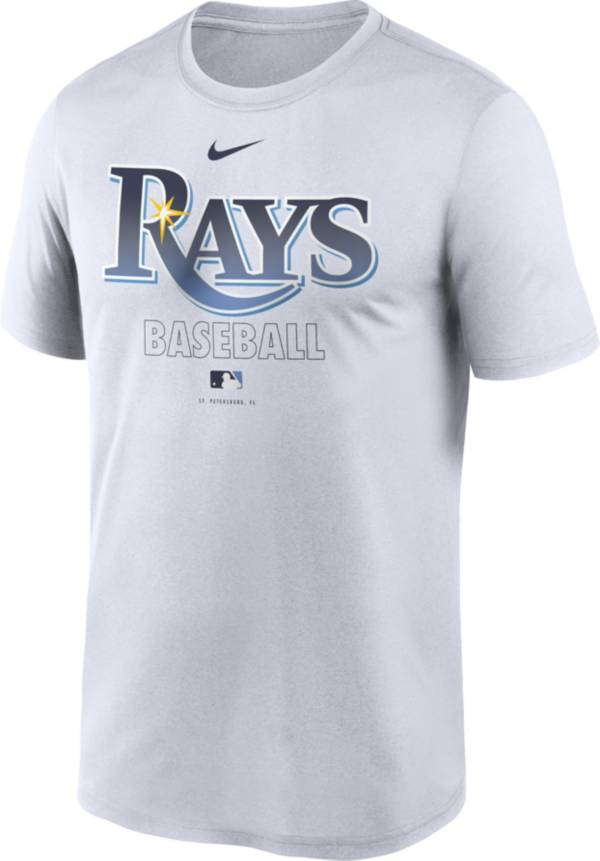 Nike Men's Tampa Bay Rays White Authentic Collection Legend Dri-FIT T-Shirt product image