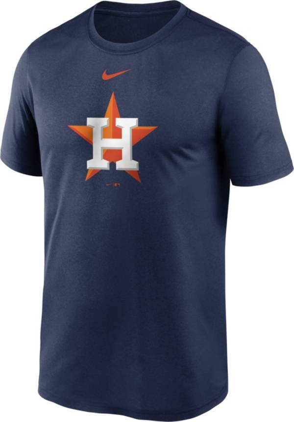 Nike Men's Houston Astros Navy Large Logo Legend Dri-FIT T-Shirt product image