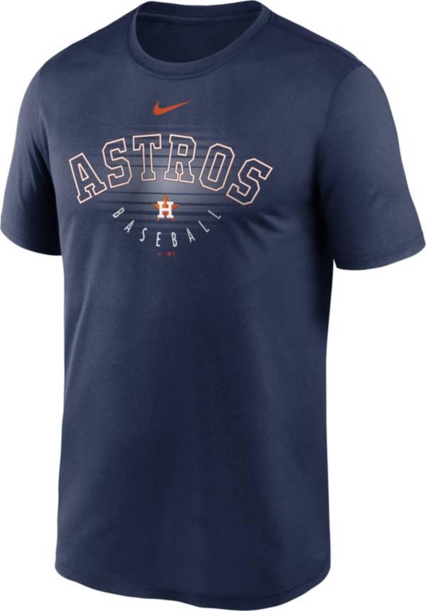 Nike Men's Houston Astros Navy Outline Legend Dri-FIT T-Shirt product image
