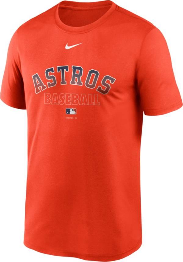 Nike Men's Houston Astros Orange Authentic Collection Legend Dri-FIT T-Shirt product image