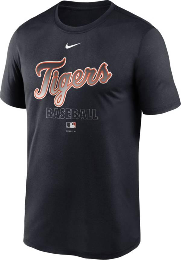Nike Men's Detroit Tigers Blue Authentic Collection Legend Dri-FIT T-Shirt product image