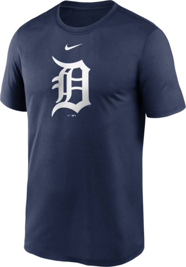 Nike Men's Detroit Tigers Navy Large Logo Legend Dri-FIT T-Shirt product image