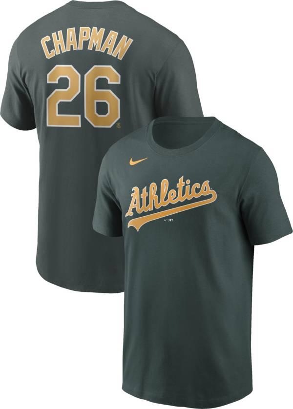 Nike Men's Oakland Athletics Matt Chapman #26 Green T-Shirt product image