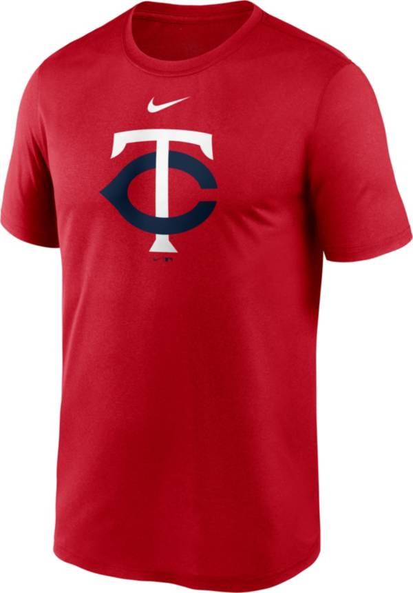 Nike Men's Minnesota Twins Red Large Logo Legend Dri-FIT T-Shirt product image