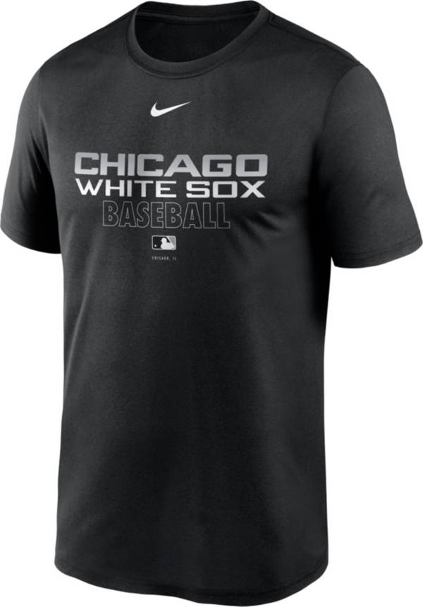 Nike Men's Chicago White Sox Black Authentic Collection Legend Dri-FIT T-Shirt product image