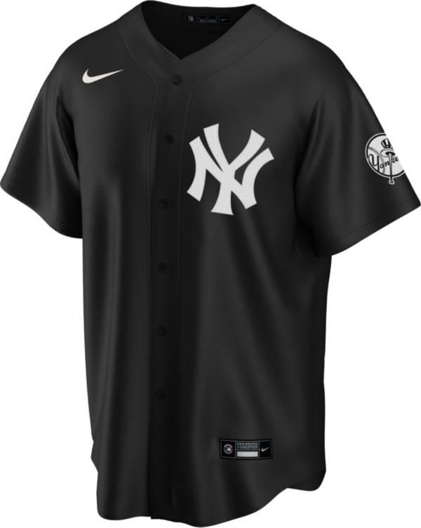 Nike Men's Replica New York Yankees Black Cool Base Jersey product image