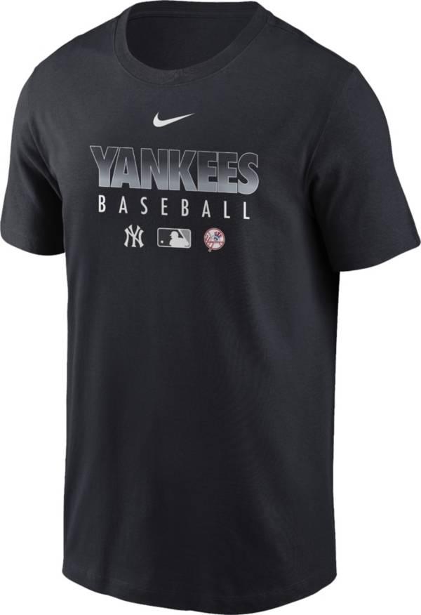 Nike Men's New York Yankees Navy Dri-FIT Baseball T-Shirt product image