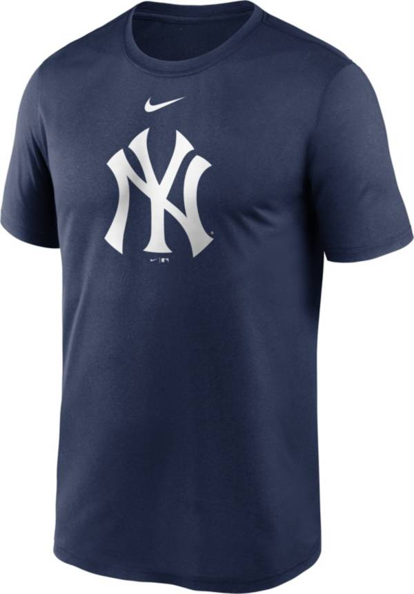 Nike Men's New York Yankees Navy Large Logo Legend Dri-FIT T-Shirt product image