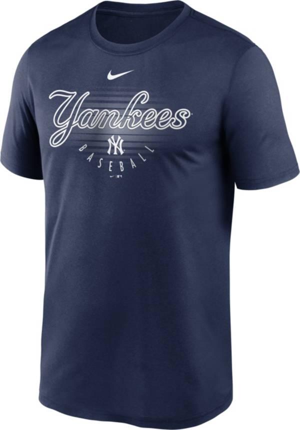 Nike Men's New York Yankees Navy Outline Legend Dri-FIT T-Shirt product image