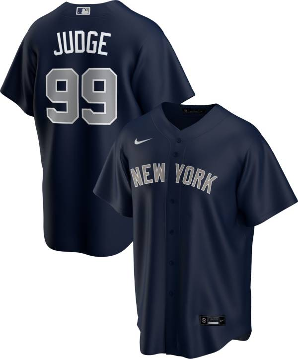 Nike Men's Replica New York Yankees Aaron Judge #99 Navy Cool Base Jersey product image