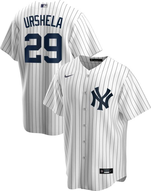 Nike Men's Replica New York Yankees Gio Urshela #29 White Cool Base Jersey product image