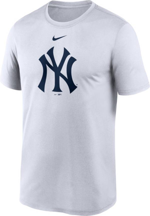 Nike Men's New York Yankees White Large Logo Legend Dri-FIT T-Shirt product image