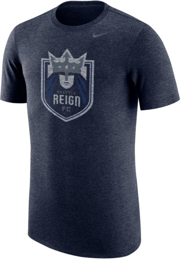 Nike Men's Seattle Reign Primary Logo Navy Tri-Blend T-Shirt product image