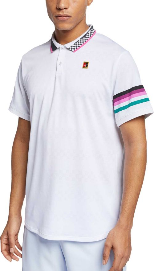 259a3459 Nike Men's NikeCourt Advantage Dri-FIT Tennis Polo | DICK'S Sporting ...