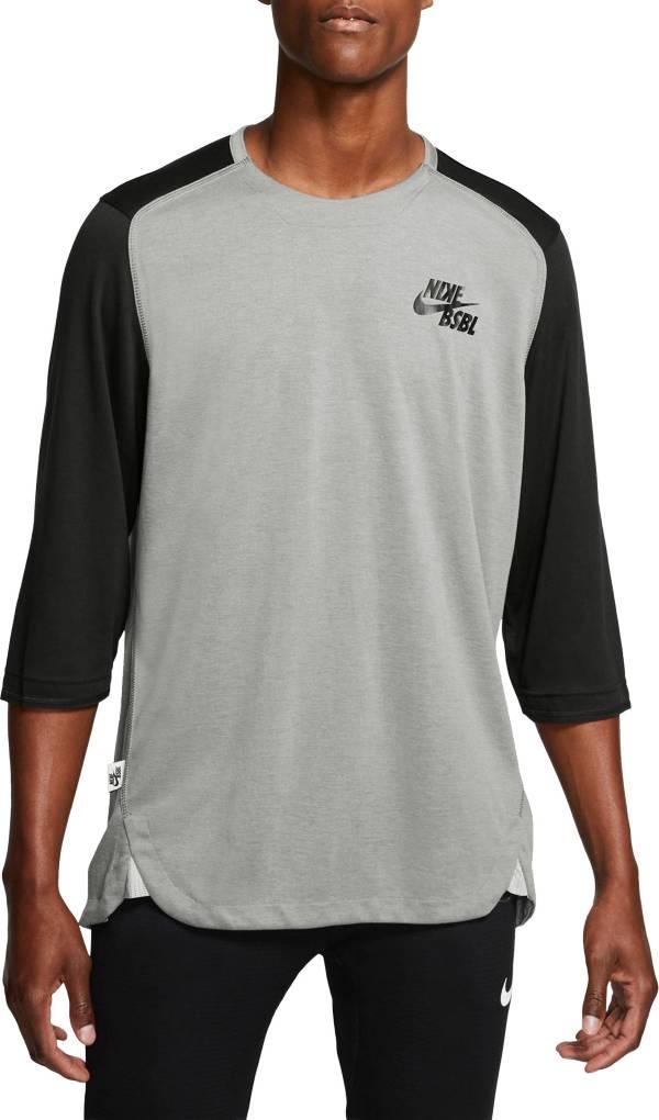 3/4 nike baseball shirts