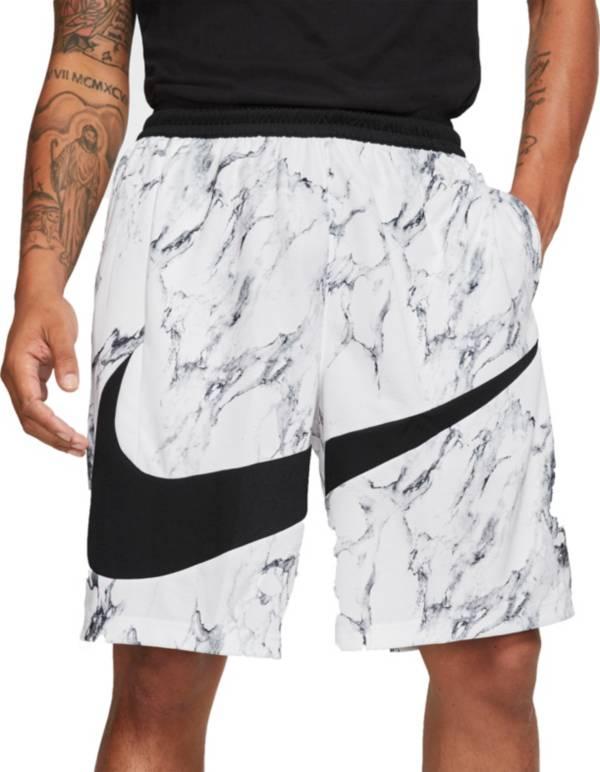 Nike Men's Dri-FIT HBR Marble Basketball Shorts product image