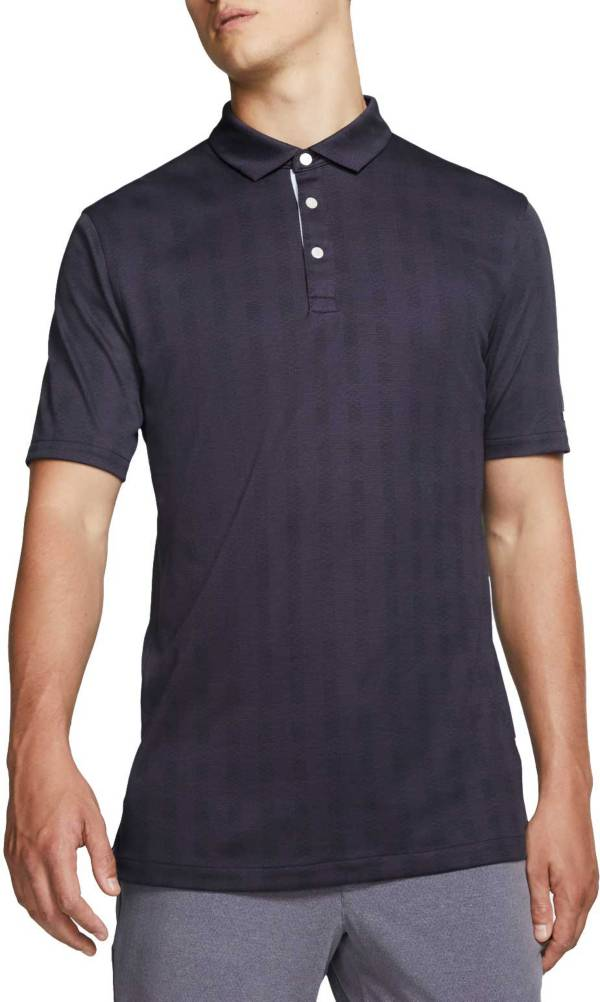 Nike Men's Plaid Player Golf Polo product image