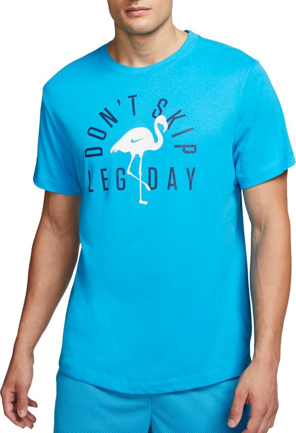 Nike Men's Dri-FIT Flamingo Leg Day Graphic Tee product image