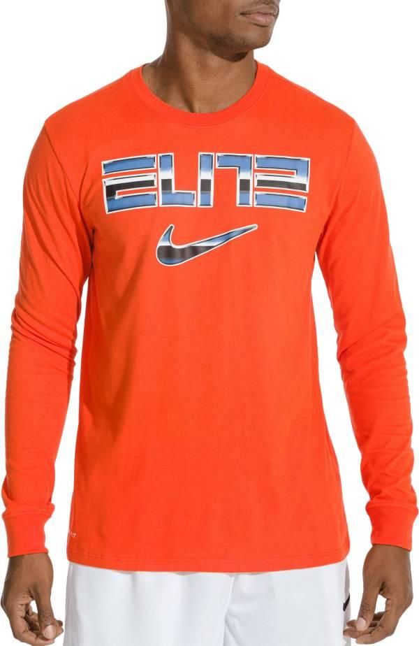 Nike Men's Dri-FIT Elite Basketball Long Sleeve Shirt product image