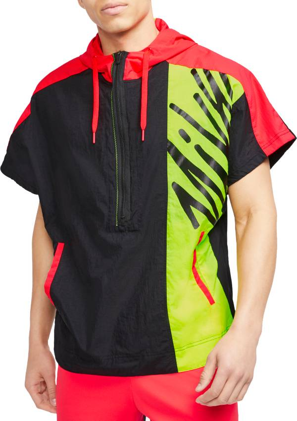 Nike Men's Lightweight Short-Sleeve ½ Zip Training Hoodie product image