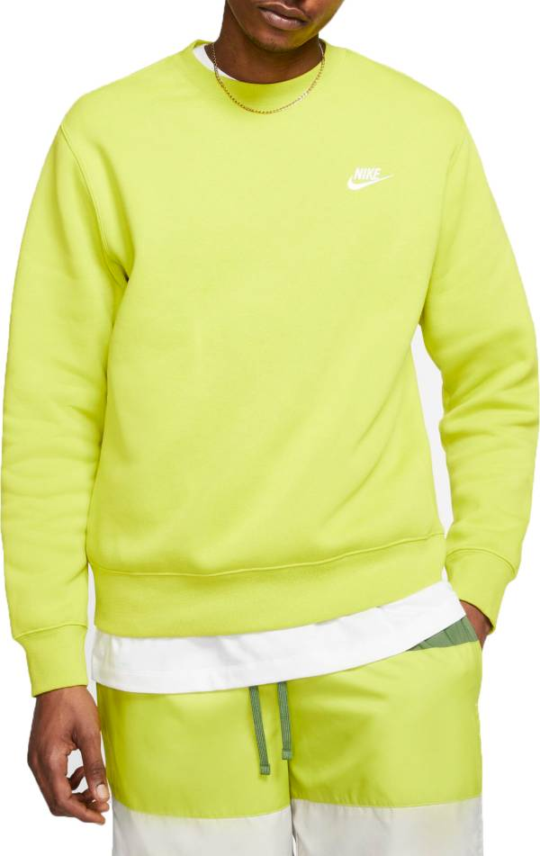 Nike Men's Sportswear Club Crewneck Pullover (Regular and Big & Tall) product image