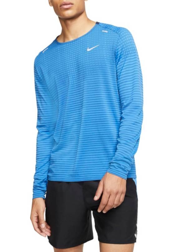 Nike Men's TechKnit Ultra Running Long Sleeve Shirt product image