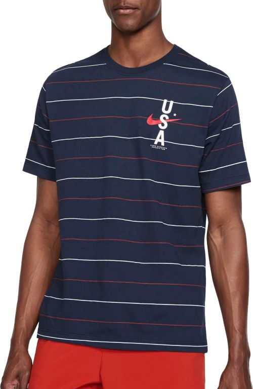 dfe9b5b27 Nike Men's RWB Allover Print Training T-Shirt. noImageFound. Previous