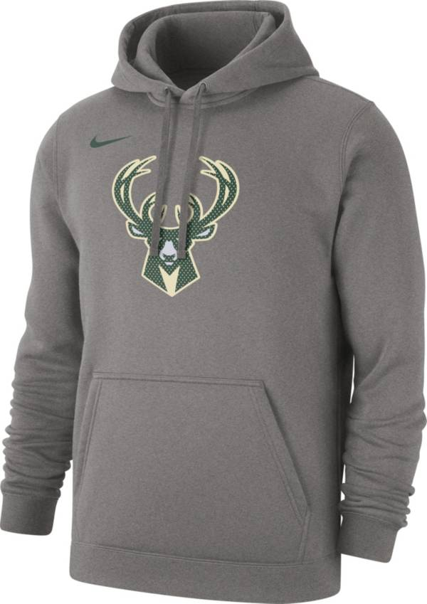 Nike Men's Milwaukee Bucks Statement Pullover Hoodie product image