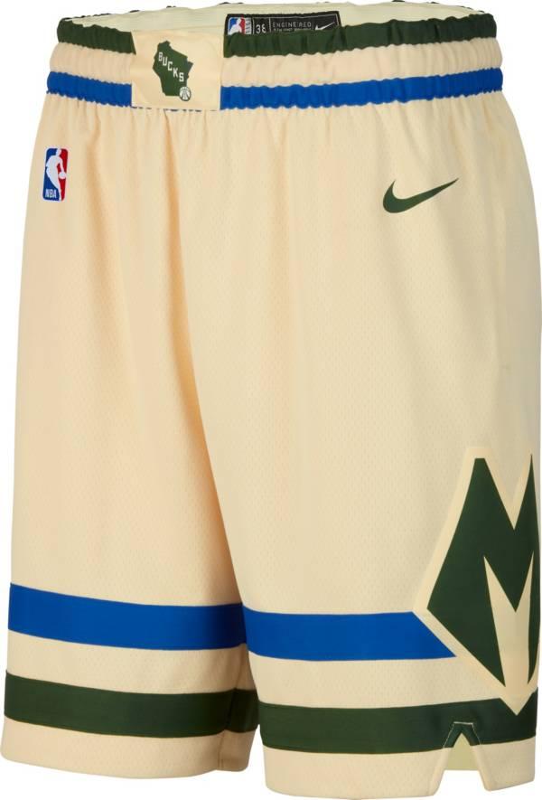 Nike Men's Milwaukee Bucks Dri-FIT City Edition Swingman Shorts product image