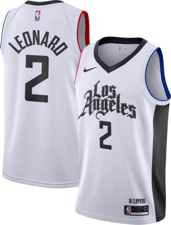 Nike Men's Los Angeles Clippers Kawhi Leonard Dri-FIT City Edition Swingman Jersey product image