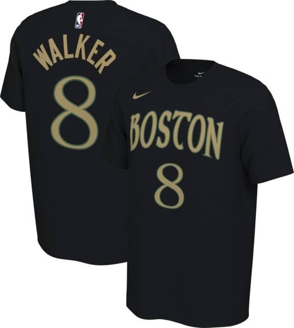Nike Men's Boston Celtics Kemba Walker #8 Dri-FIT Black City Edition T-Shirt product image
