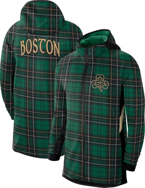 Nike Men's Boston Celtics Green Earned Edition Therma Flex Hoodie product image