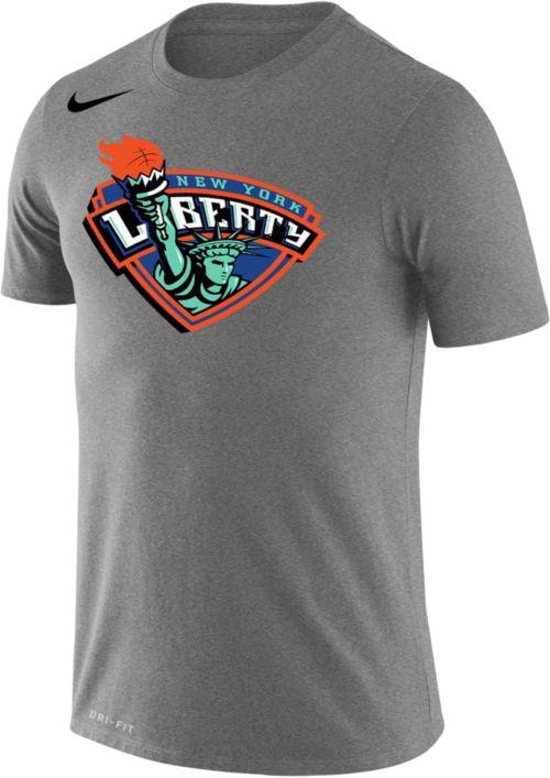 7db8fb848 Nike Men's New York Liberty Dri-FIT Grey T-Shirt | DICK'S Sporting Goods