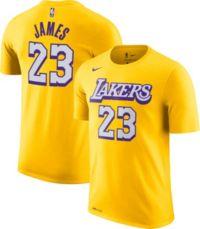 Nike Men's Los Angeles Lakers LeBron James Dri-FIT City Edition T ...