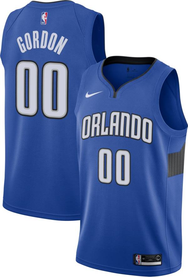 Nike Men's Orlando Magic Aaron Gordon #00 Royal Dri-FIT Statement Swingman Jersey product image