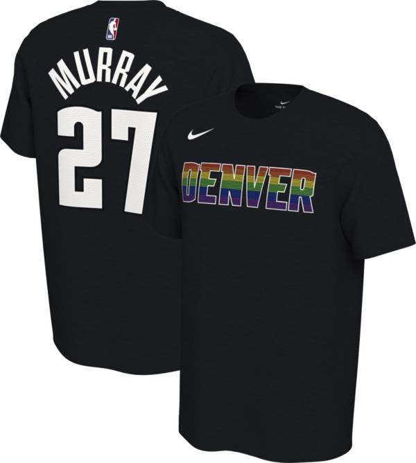 Nike Men's Denver Nuggets Jamal Murray #27 Dri-FIT Black Earned Edition T-Shirt product image